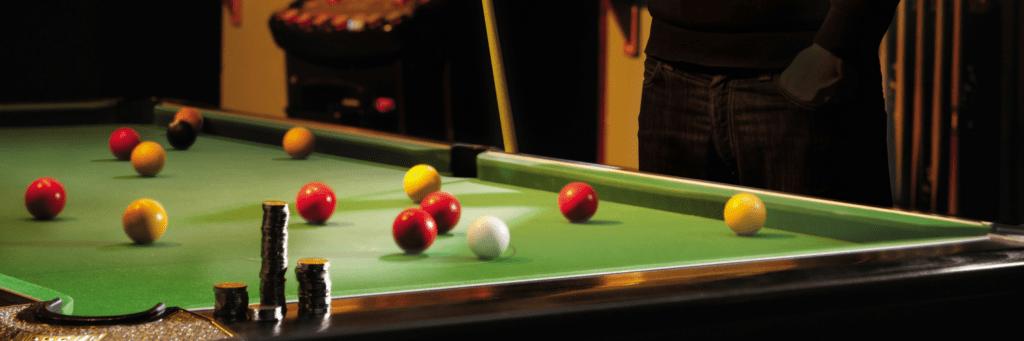 Pool Table sanitisation during Coronavirus