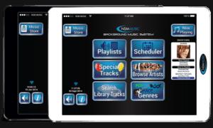 NSM background music tablet