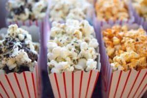 popcorn - bar snacks