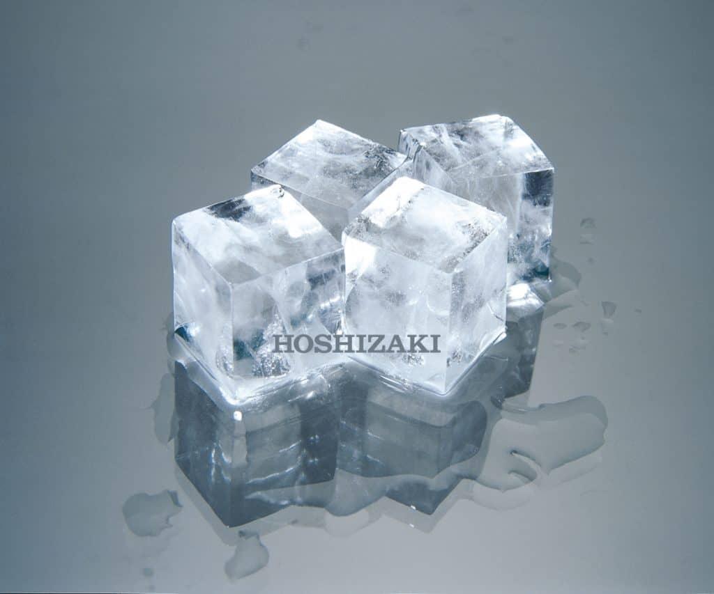 Hoshizaki ice cubes