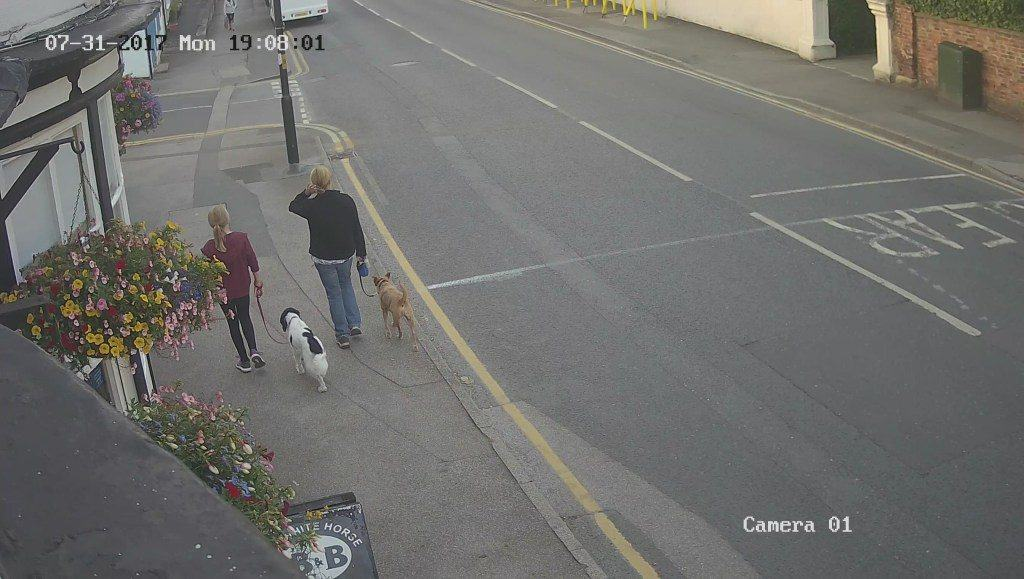 Example CCTV image from Innstay's HD systems