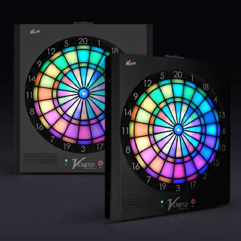 Vdarts electronic soft tip dartboard