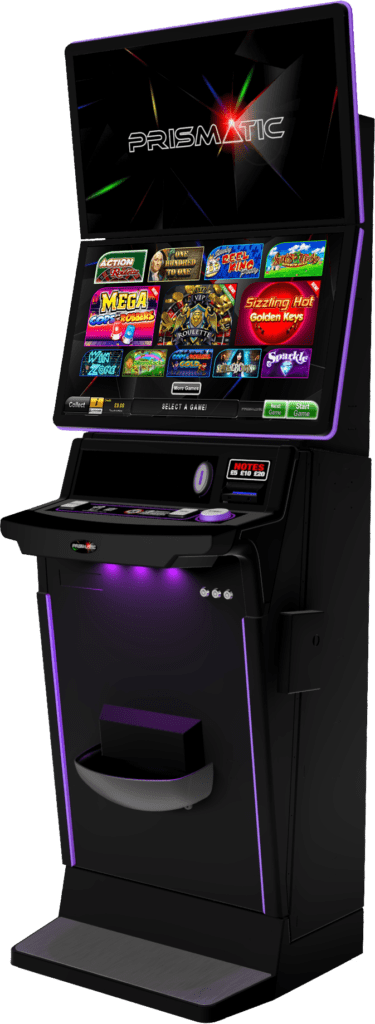 Prismatic gaming machine