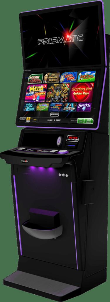 Prismatic gaming machine