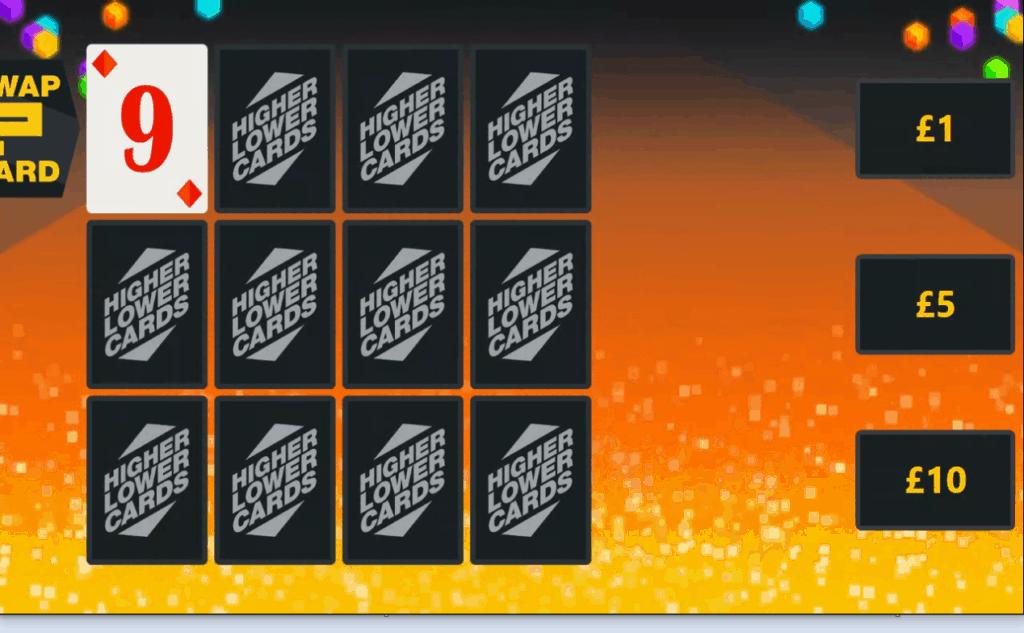 Innfinite system - hi lo cards